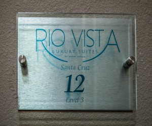 Rio Vista Inn & Suites Santa Cruz - Room Sign at the Rio Vista Inn & Suites Santa Cruz
